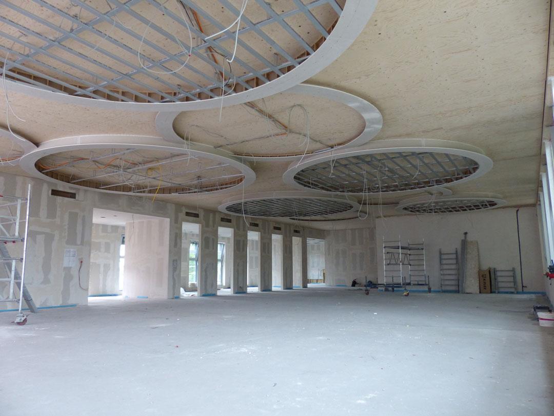 Bauprojekt Umbau Schulkantine