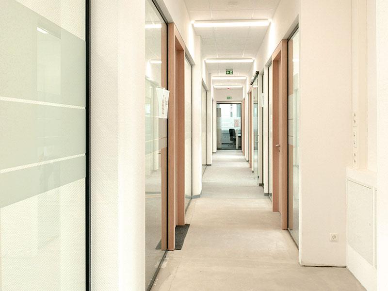 Bauprojekt Sanierung BASF Coatings Münster
